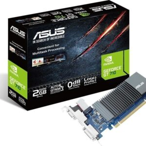 ASUS GeForce®GT 710 great value graphics with passive 0dB efficient cooling