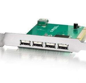 USB 2.0 PCI CARD 4+1 PORT